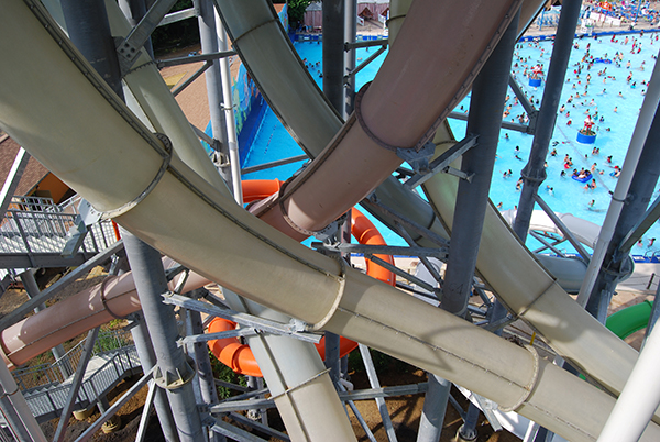 Waterpark Slides and Features