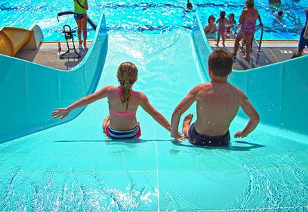 Family Water Slides & Kiddie Racers