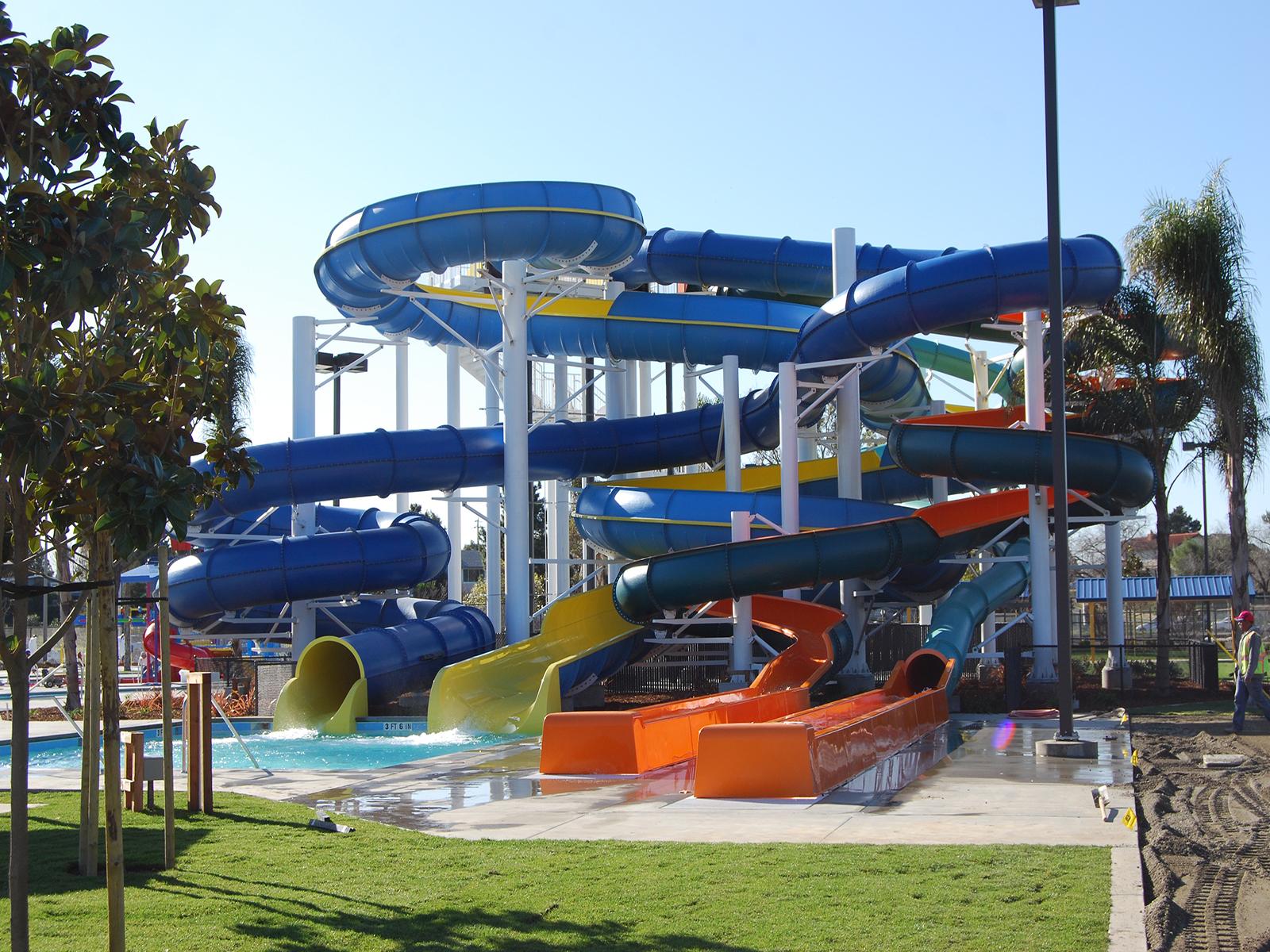 Raft Slide Designs