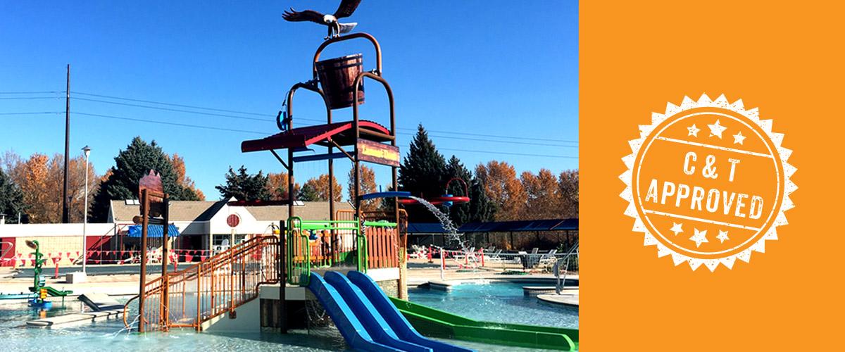 splashtacular aquatic play unit