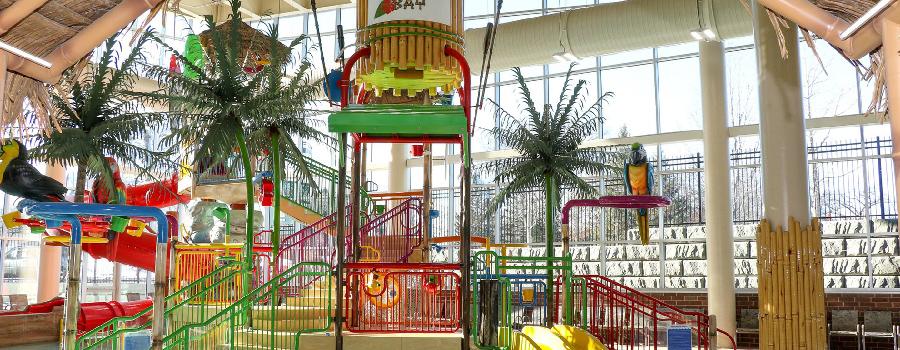 indoor aquatic play unit design