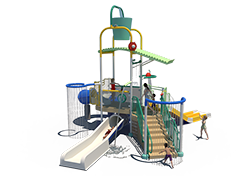 175st Aquatic Play Unit Model