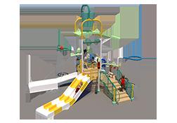 200st Aquatic Play Unit Model