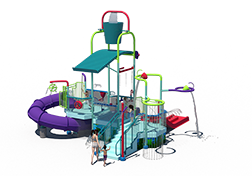 225st Aquatic Play Unit Model