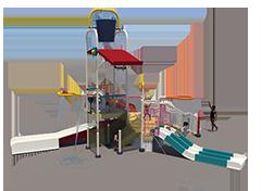 250st Aquatic Play Unit Model