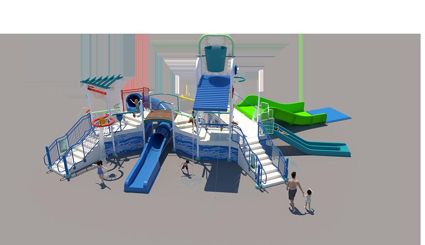 450st Aquatic Play Unit