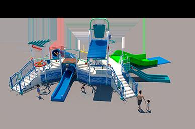 450st Aquatic Play Unit Model