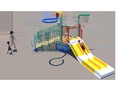 50st Aquatic Play Unit Model