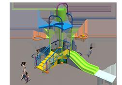 75st Aquatic Play Unit Model